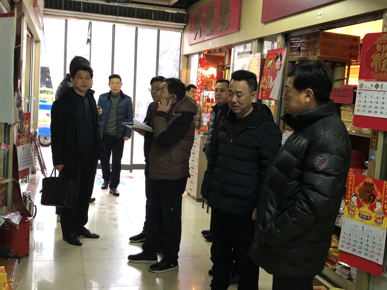 区总社领导带队开展春节前安全大检查