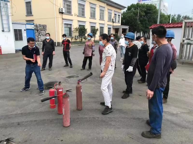 南方公司宝杨路基地开展消防应急演练